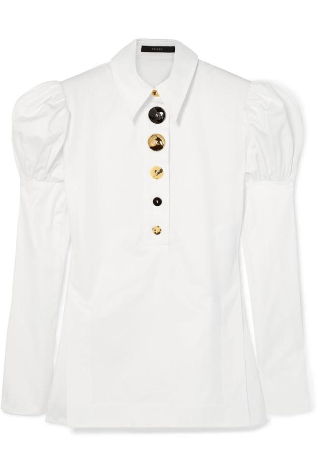 Ellery Breuer Cotton-Twill Shirt