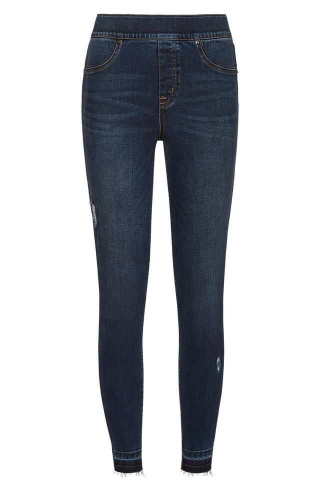 Spanx Distressed Skinny Denim Leggings
