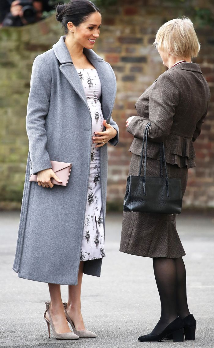 Megan Markle Just Wore Florals for Winter, Here's Why It's Groundbreaking