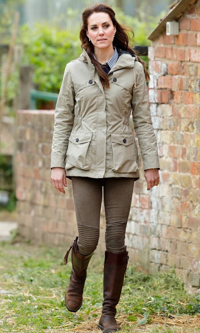 Kate Middleton Skinny Jeans and Boots
