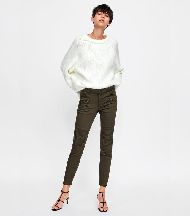 Zara Z1975 Zippered Jeans