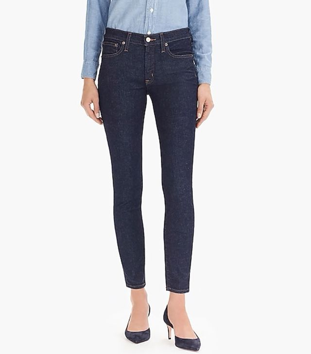 J.Crew Toothpick Jeans in Classic Wash