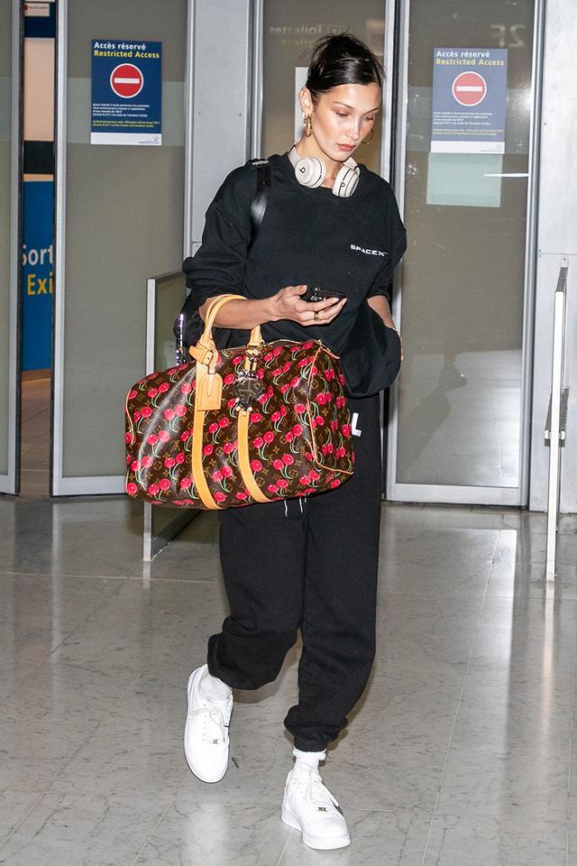 Bella Hadid airport style