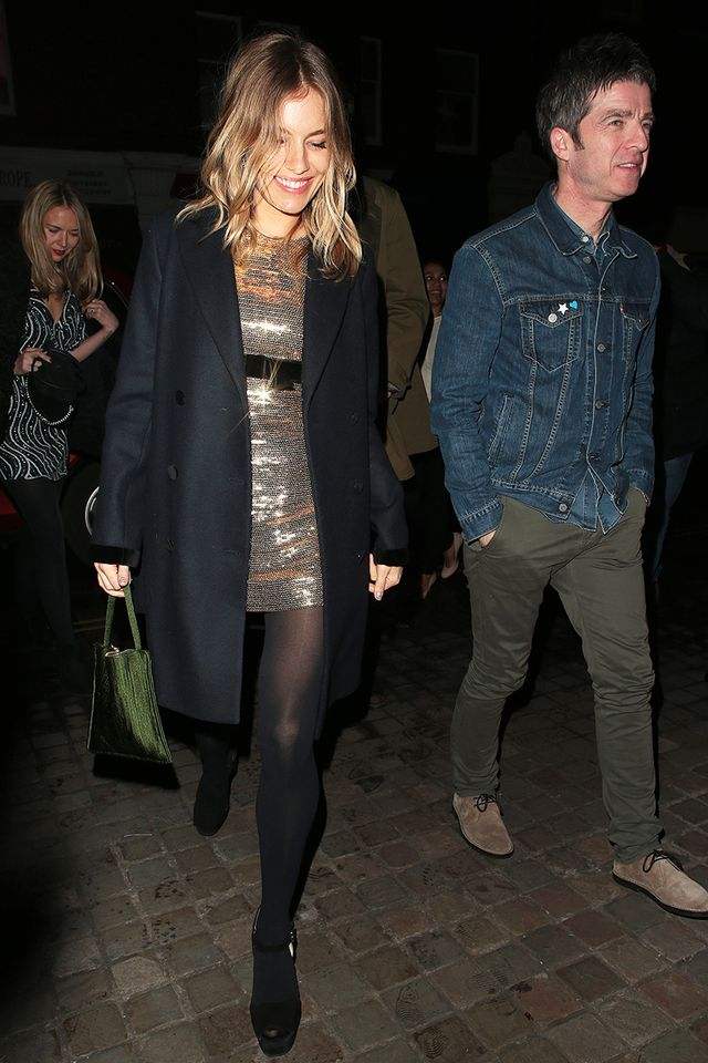 Sienna Miller Wore The Shoes Cool Girls Wear With Black Tights Who