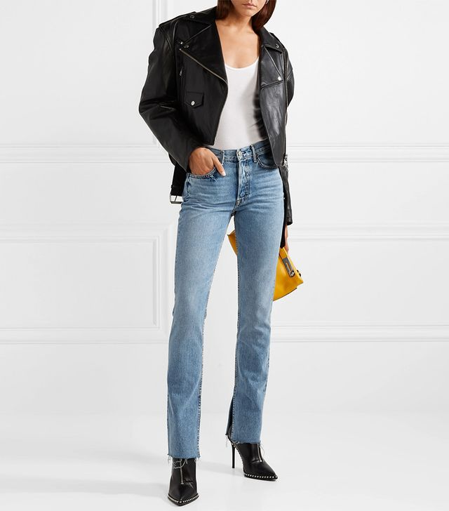 Grlfrnd Addison High-Rise Flared Jeans
