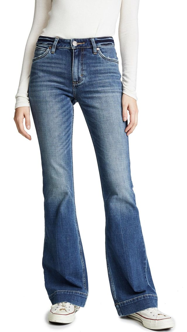 Wrangler Exaggerated Bootcut Jeans