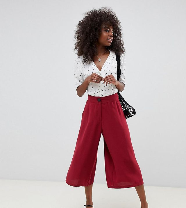 Vero Moda High Waisted Culottes