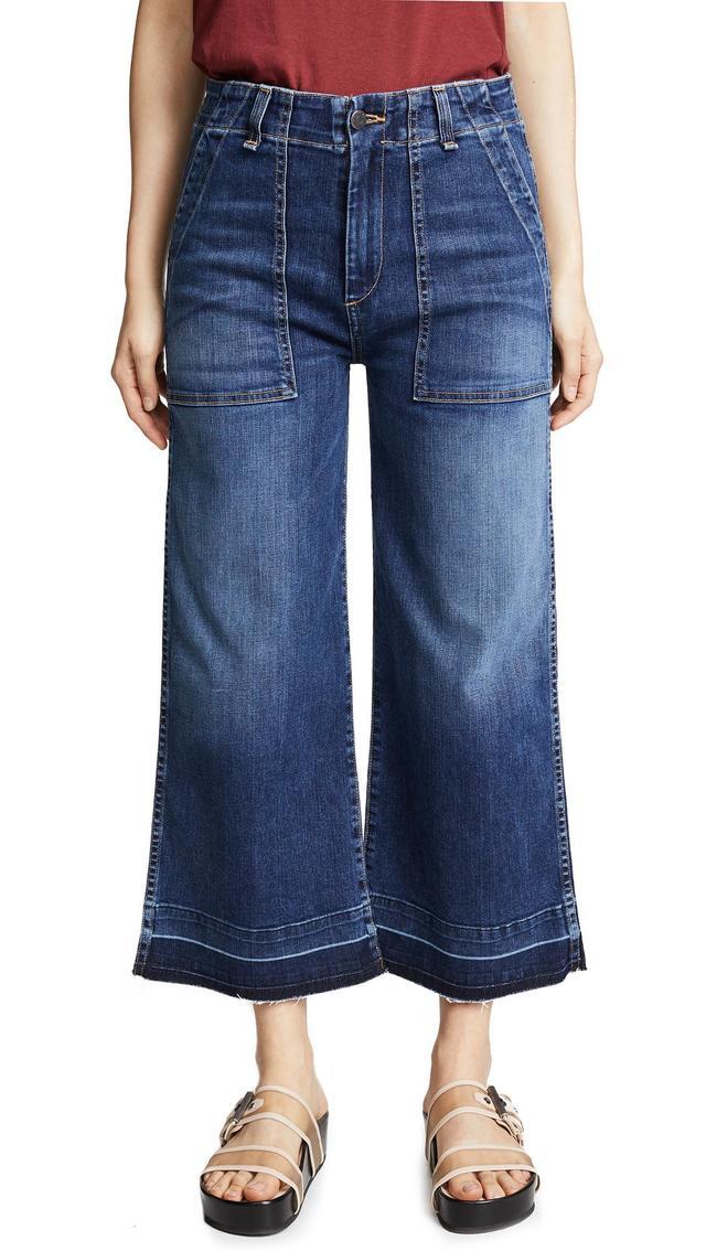 Veronica Beard Jean Lou Gaucho Jeans