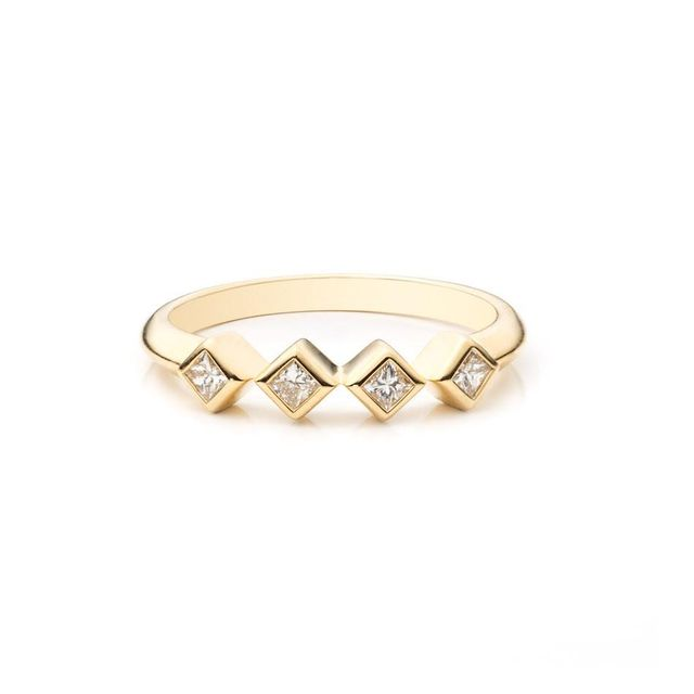 Dannijo Dora 18K Gold Ring
