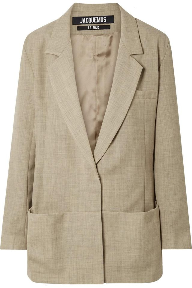 Jacquemus Saafi Oversized Wool Blazer