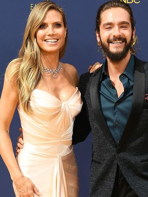 Heidi Klum Just Debuted the Most Stunning Anti-Diamond Engagement Ring