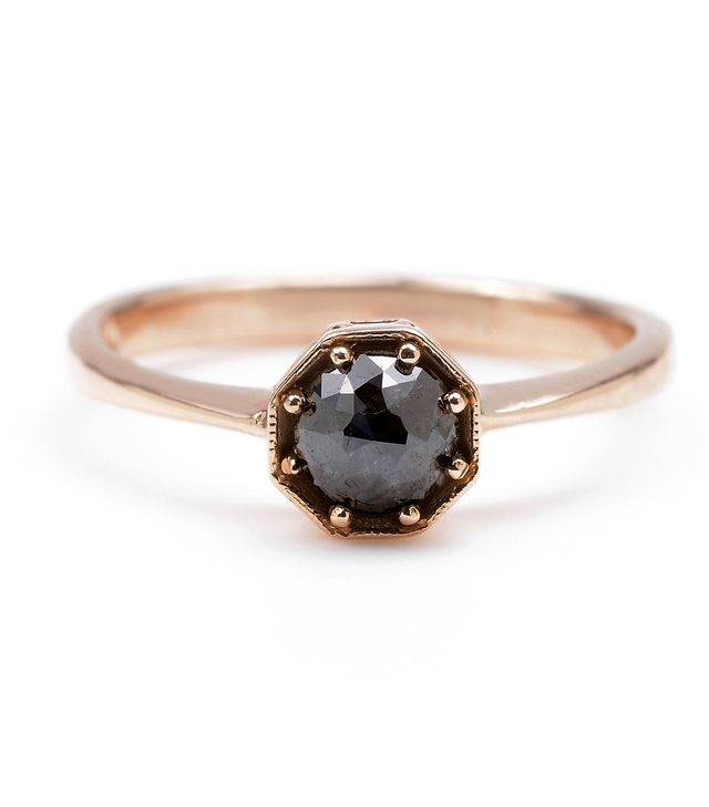 Lori McLean Fine Jewelry Rose Cut Diamond Octagon Ring