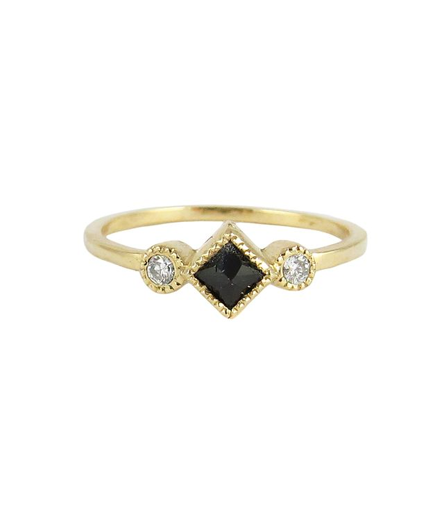 Jennie Kwon Designs Black Diamond Ike Ring