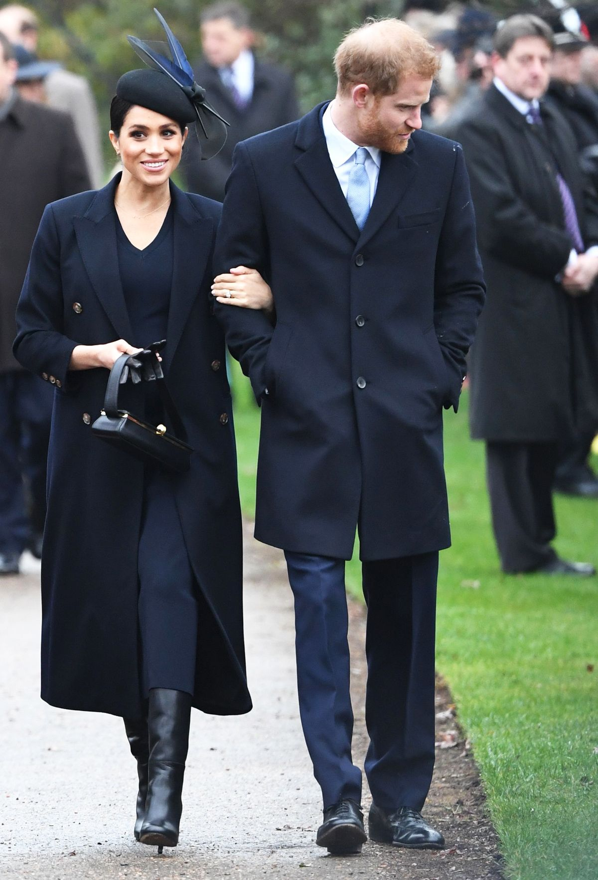 Meghan Markle Turned to Victoria Beckham for Her Royal Christmas Day Look
