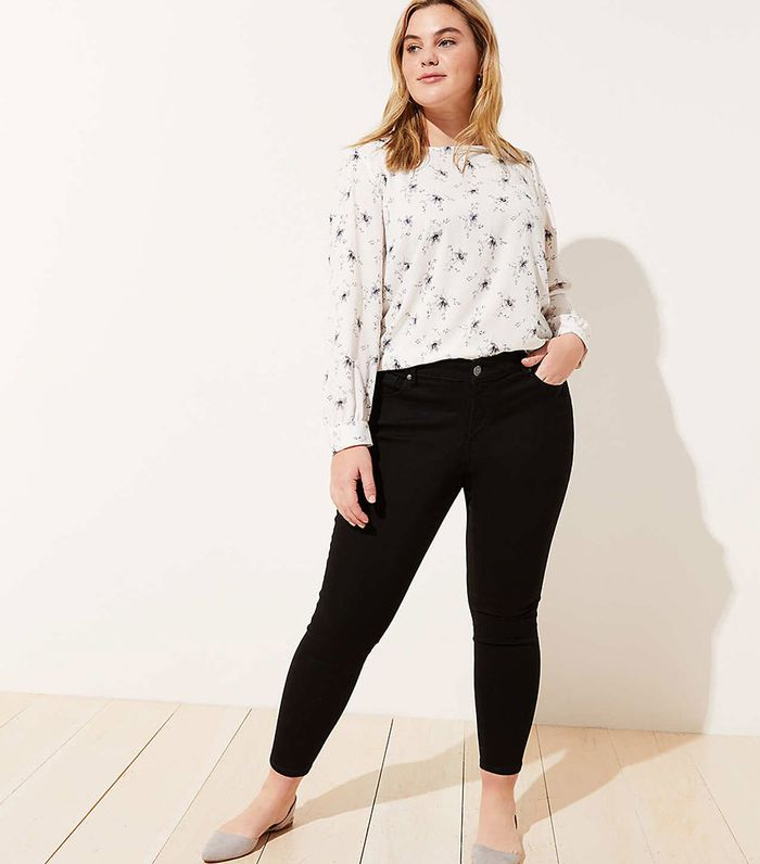 c01fbe90231 The 7 Most Stylish Black Skinny Jean Outfits
