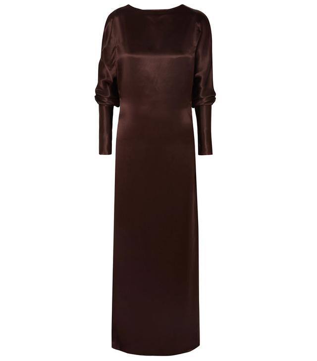 Albus Lumen Alma Silk-Satin Dress