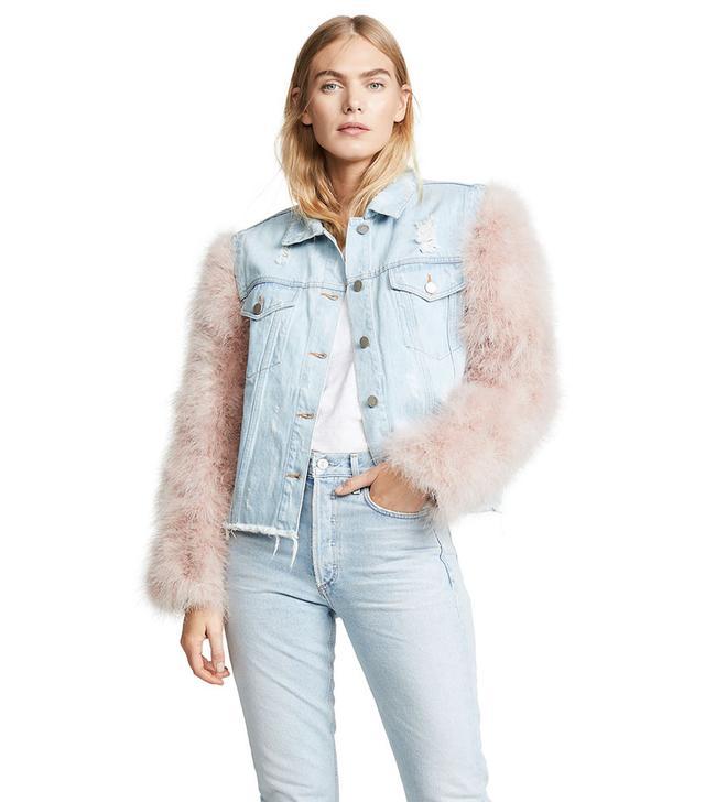 Jocelyn Cropped Denim Jacket