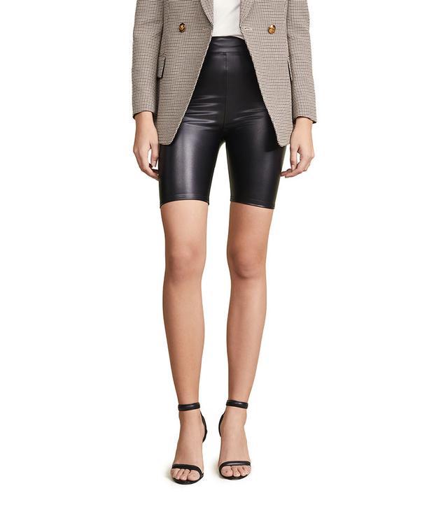 re:named PU Biker Shorts