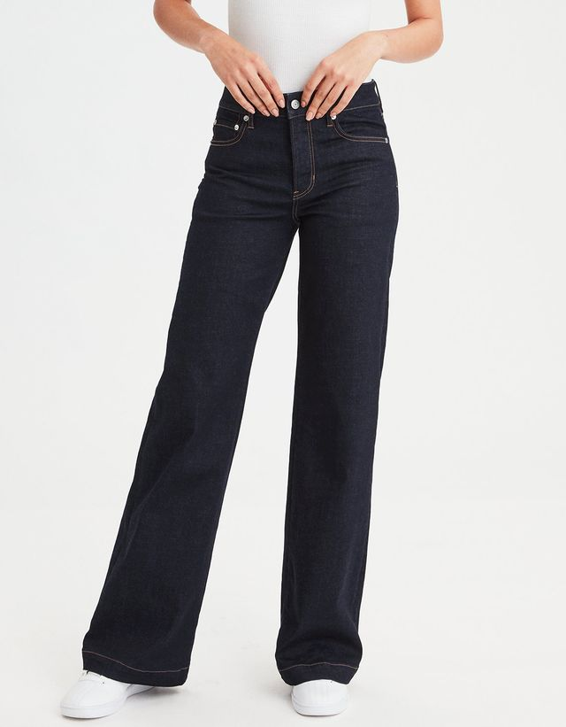 American Eagle Outfitters Wide Leg Jean