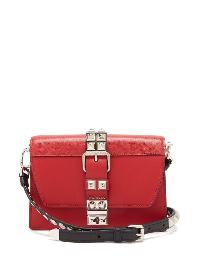 Prada Elektra Leather Crossbody Bag