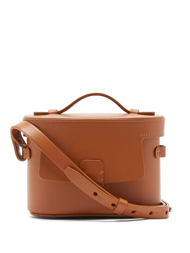 Nico Giani Frera Mini Matte Leather Crossbody Bag