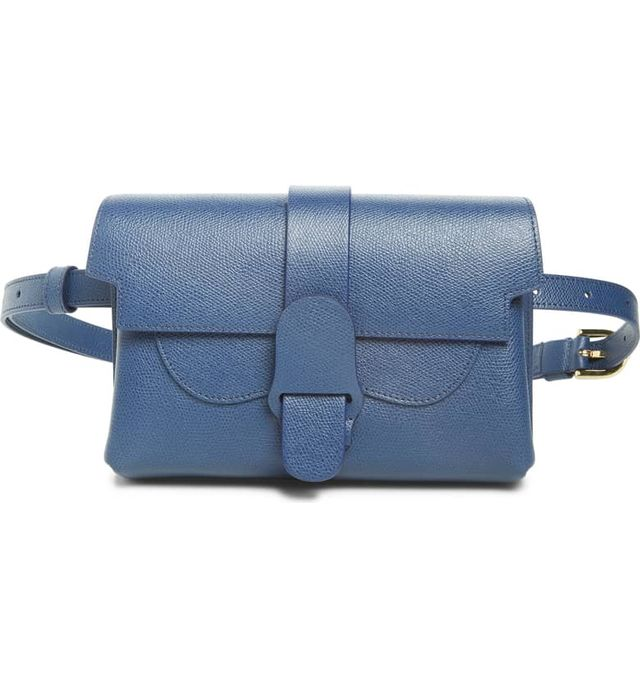 Senreve Aria Pebbled Leather Belt Bag