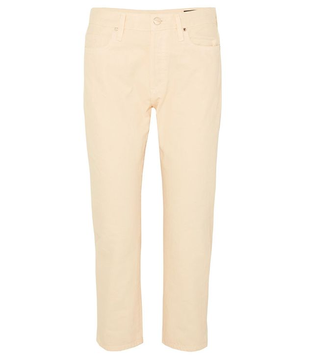 Goldsign The Low Slung Cropped Jeans