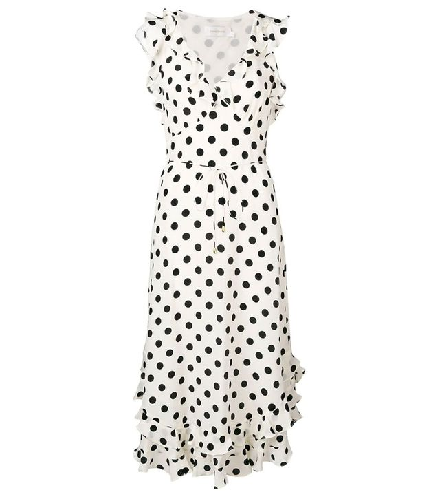 Zimmermann Polka Dot Print Dress