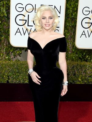 Lady Gaga Just Perfected Royal Style on the Golden Globes Red Carpet