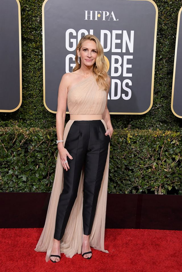 Julia Roberts at the 2019 Golden Globe Awards
