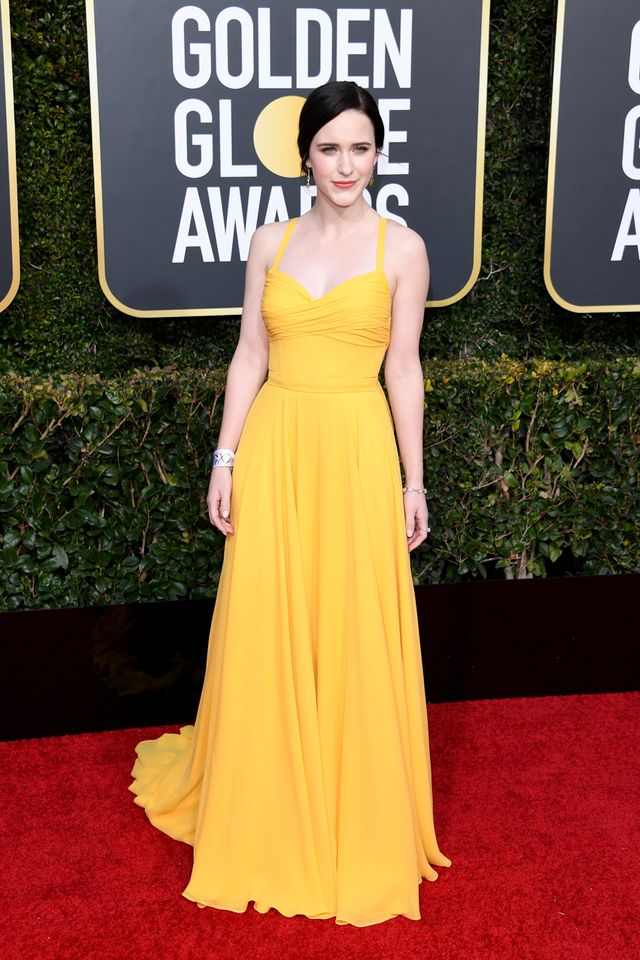 Rachel Brosnahan at the 2019 Golden Globe Awards