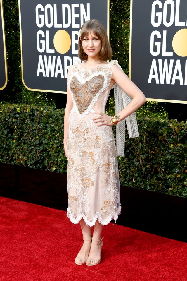 Joanna Newsom at the 2019 Golden Globe Awards