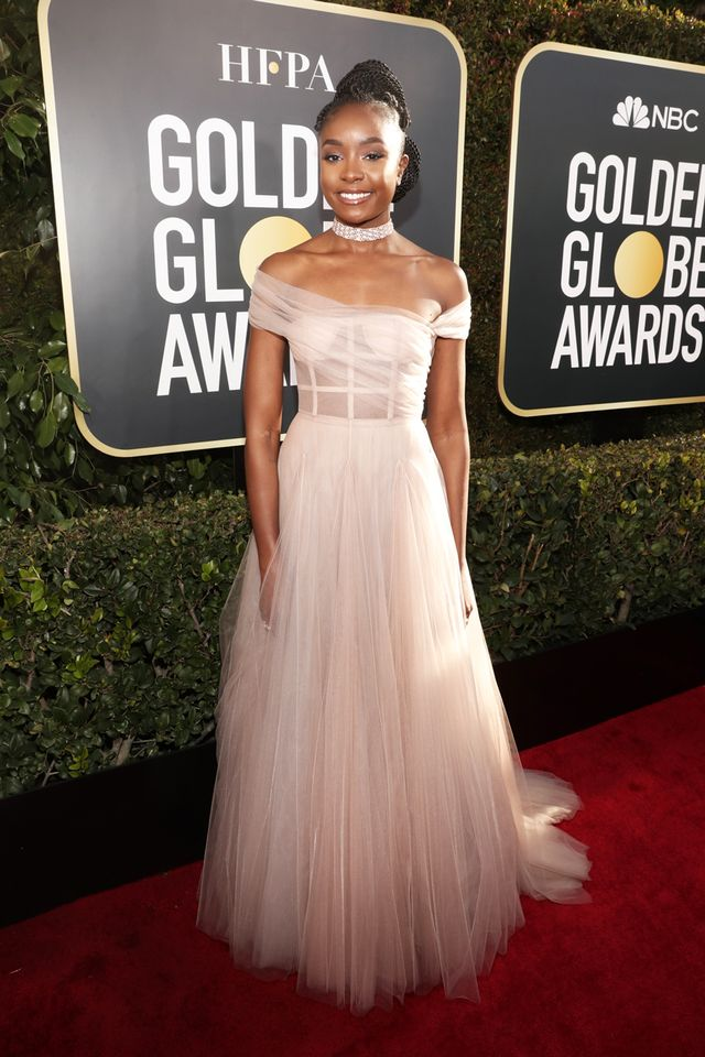 Kiki Layne at the 2019 Golden Globe Awards