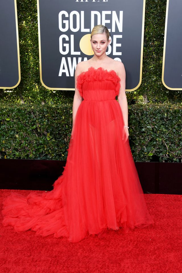 Lili Reinhart at the 2019 Golden Globe Awards