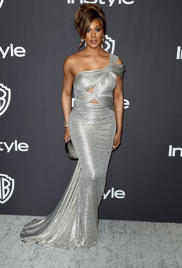 Laverne Cox Golden Globes After-Parties Outfit