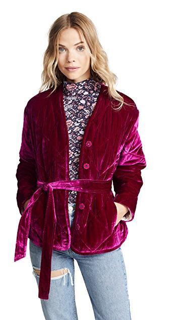 The 20 Best Velvet Jackets For Women Who What Wear