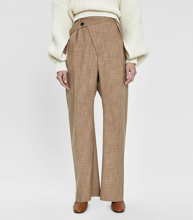 Jil Sander Floyd Plaid Trousers