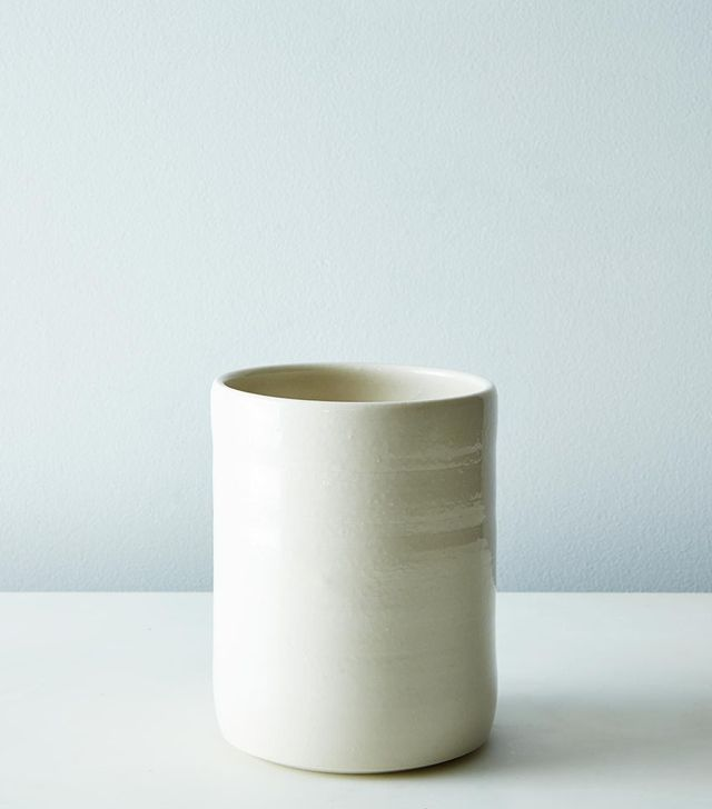 Stuck in the Mud Pottery Porcelain Utensil Holder