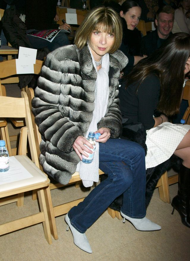 Anna Wintour Wearing Jeans