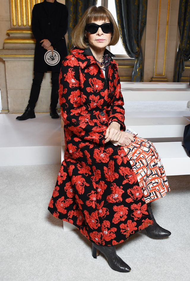 Anna Wintour Front Row Style