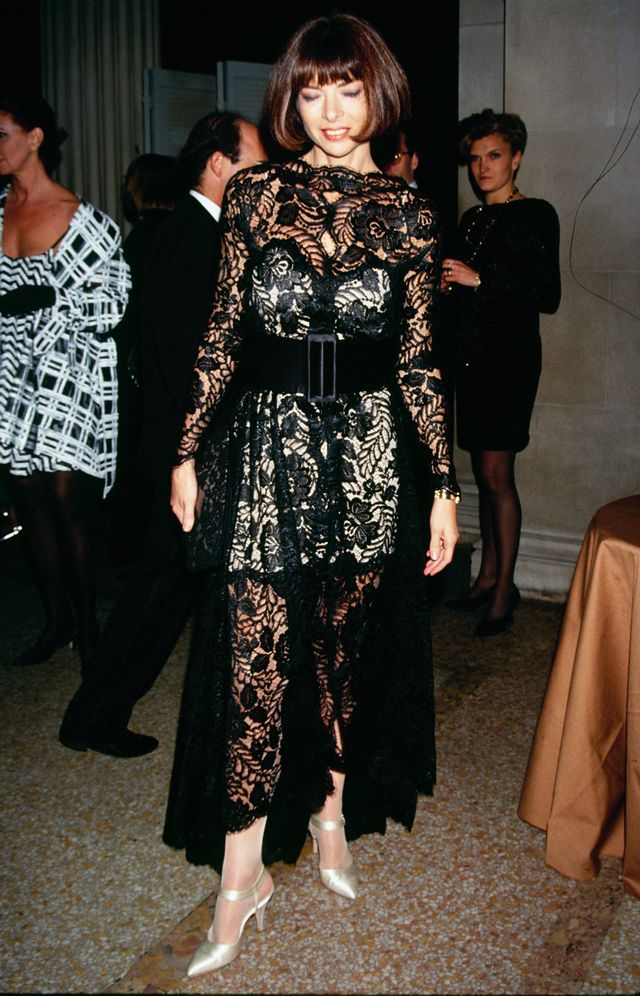 Anna Wintour Lace Dress