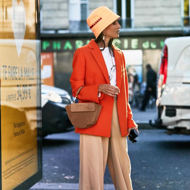 Red Blazer Street Style