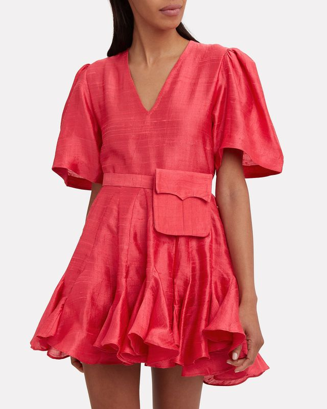 Rhode Resort Vivienne Belted Mini Dress