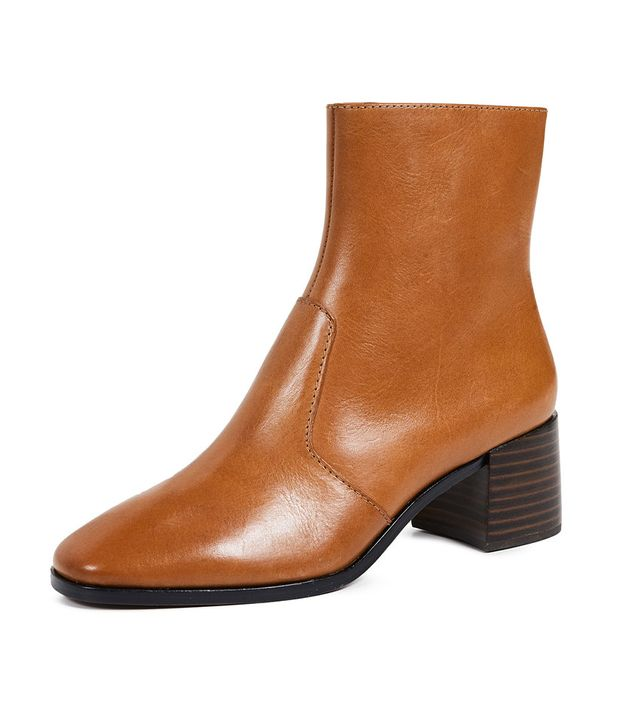 Loeffler Randall Grant Square Toe Booties