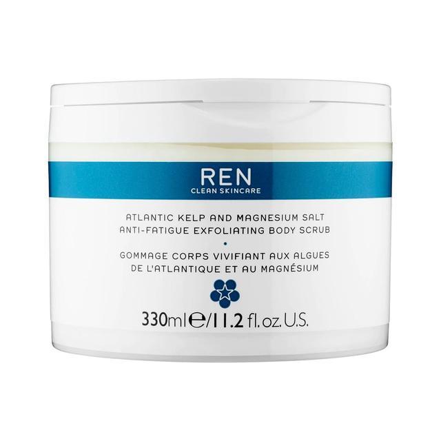 Ren Clean Skincare Atlantic Kelp and Magnesium Salt Anti-Fatigue Exfoliating Body Scrub