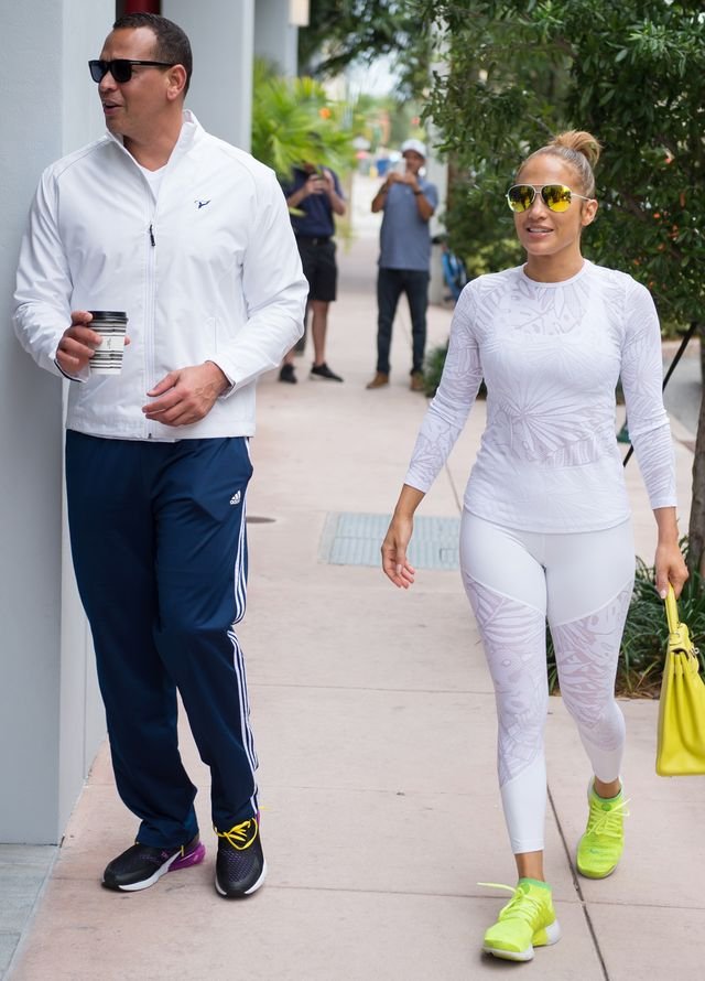 Jennifer Lopez Sneakers for the Gym
