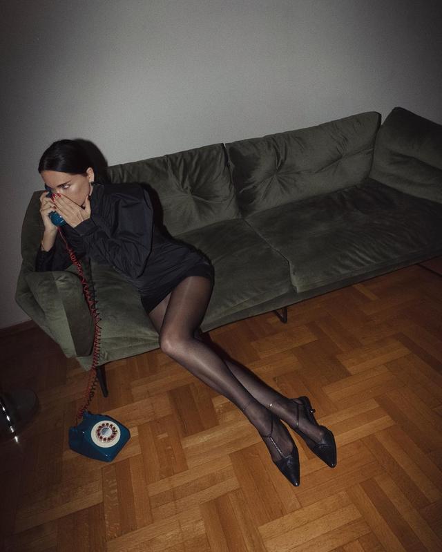 Evangelie Smyrniotaki wearing Rotate