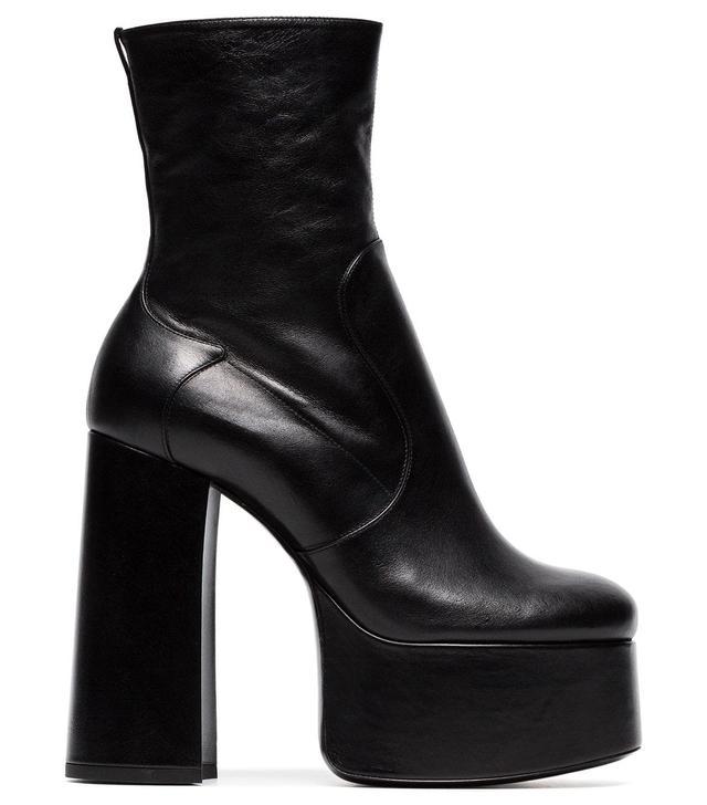 Saint Laurent Platform Ankle Boots