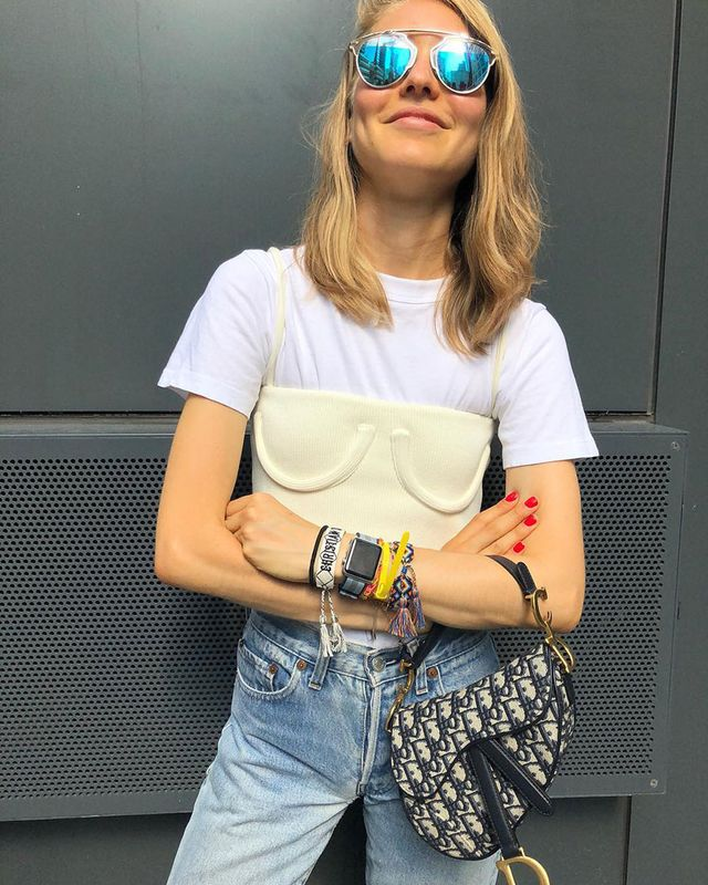 15 Ways to Wear a White T-Shirt