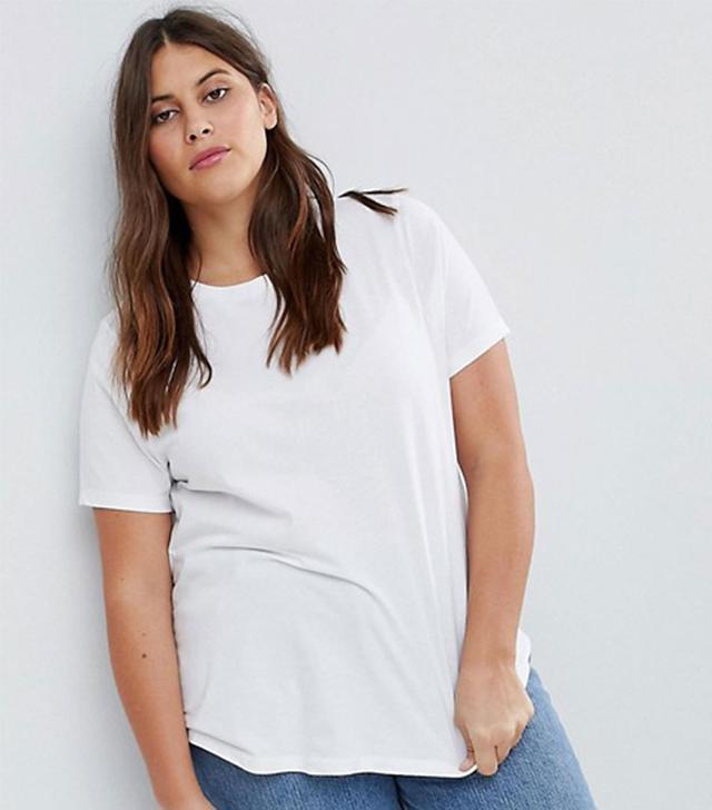 ASOS Curve Crew-Neck T-Shirt